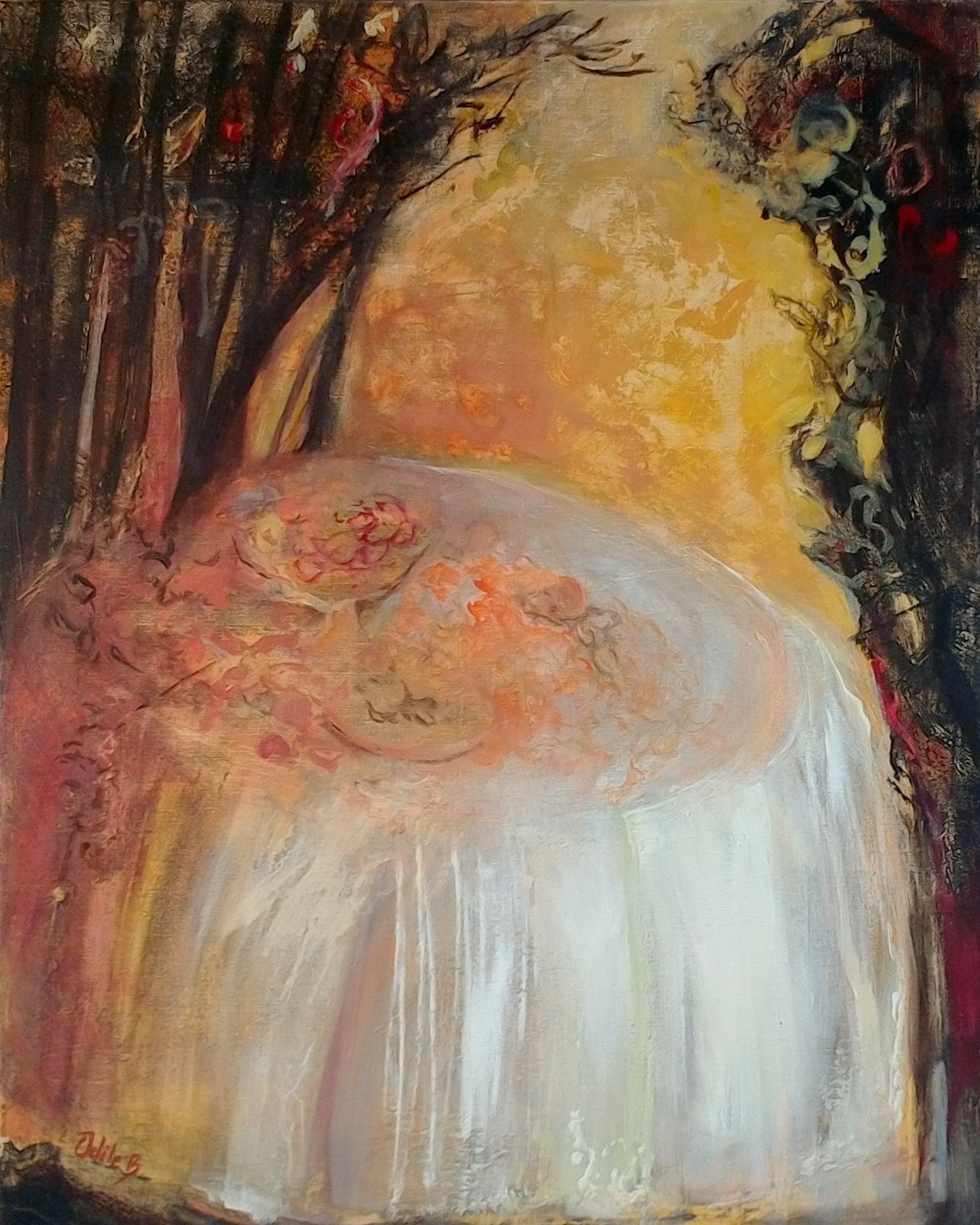 Agapes - peinture