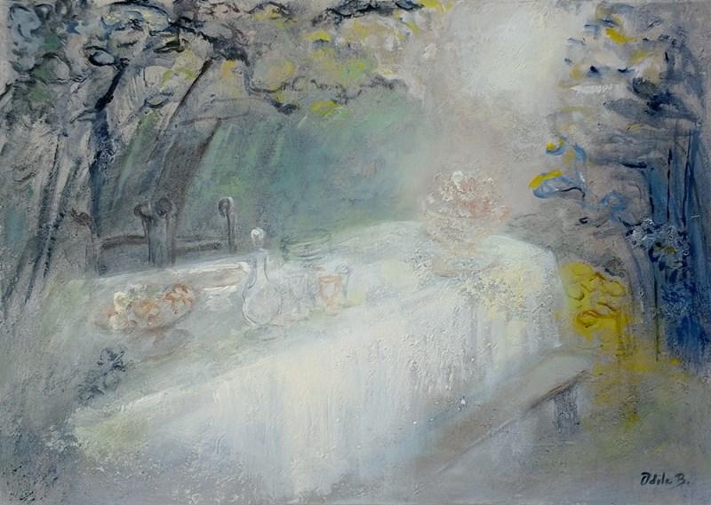 Peinture - Rayon de lune