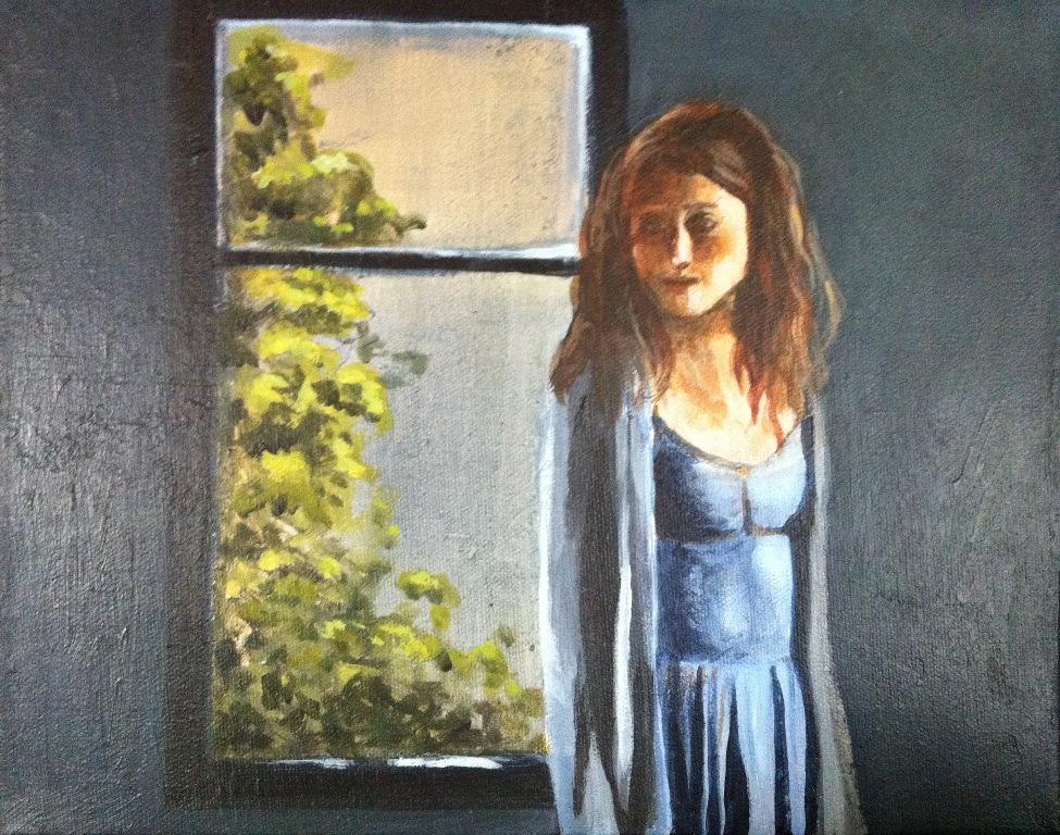 Peinture - A contre-jour