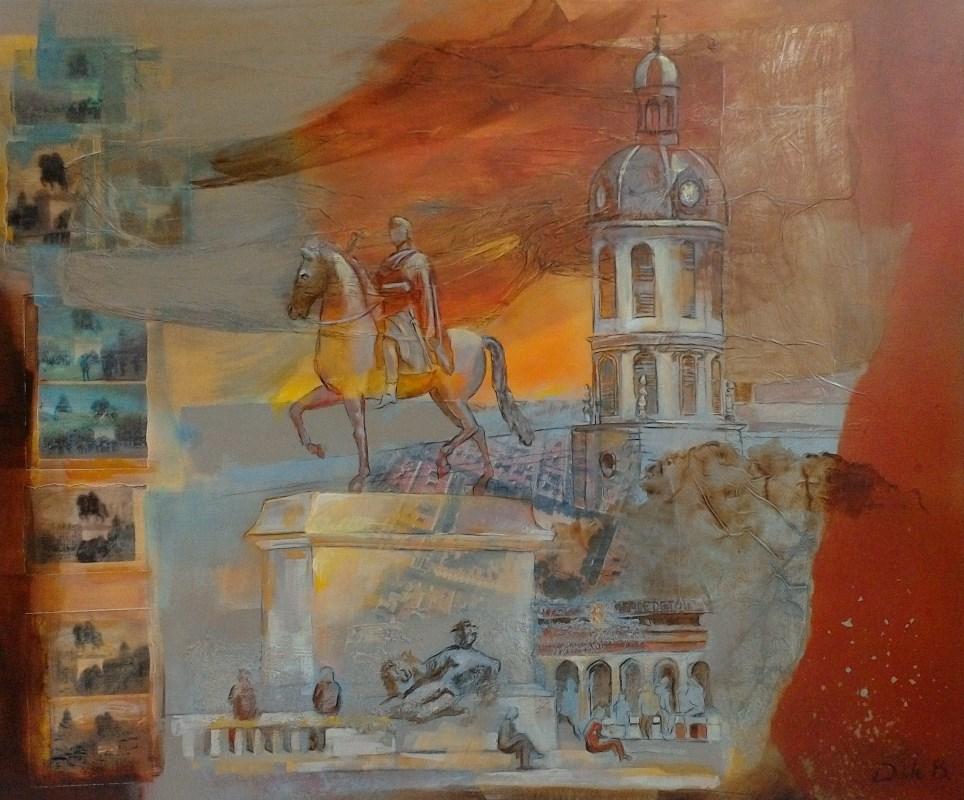Collages - Place Bellecour