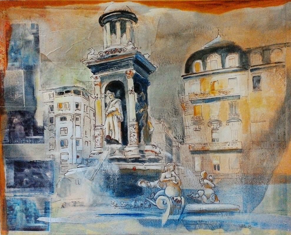 Collages - Place des Jacobins
