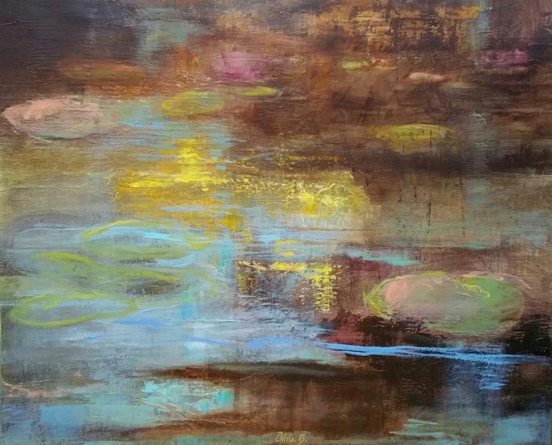 Peinture - Le grand bassin