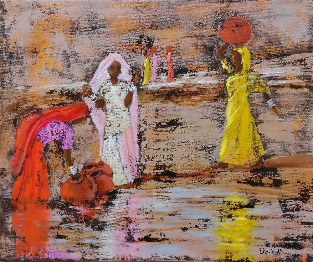 odile-berard-voyage-peinture-rajasthan