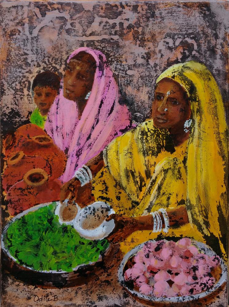 Peinture Rajasthan 2